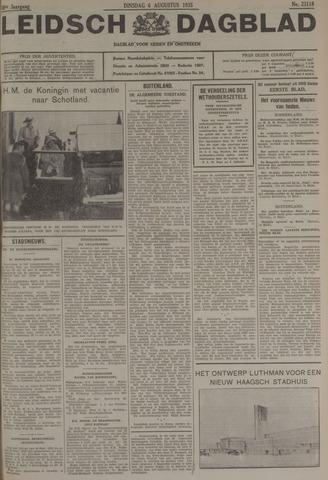 Leidsch Dagblad 1935-08-06