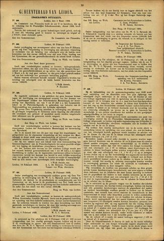 Handelingen van de Raad 1889-03-04