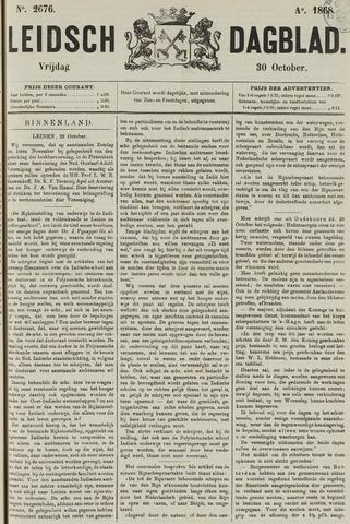 Leidsch Dagblad 1868-10-30