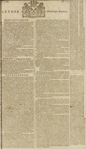 Leydse Courant 1769-09-25