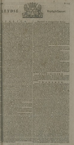 Leydse Courant 1722-08-28