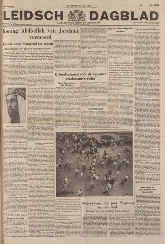 Leidsch Dagblad 1951-07-21