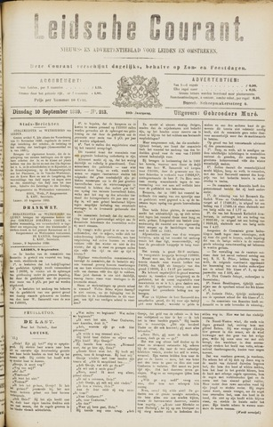 Leydse Courant 1889-09-10