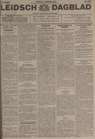 Leidsch Dagblad 1935-02-15