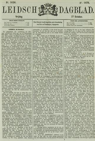 Leidsch Dagblad 1876-10-27