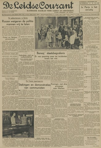 Leidse Courant 1948-09-09