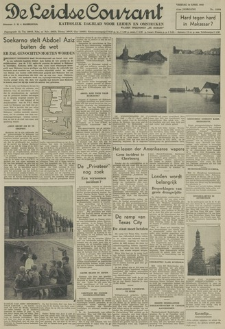 Leidse Courant 1950-04-14
