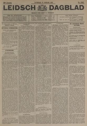 Leidsch Dagblad 1935-01-12