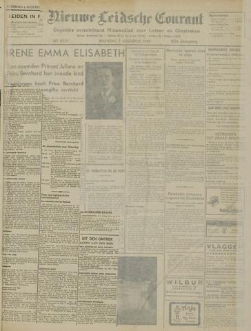 Nieuwe Leidsche Courant 1939-08-07