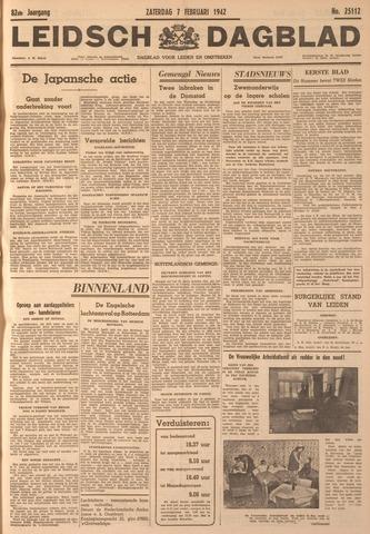 Leidsch Dagblad 1942-02-07