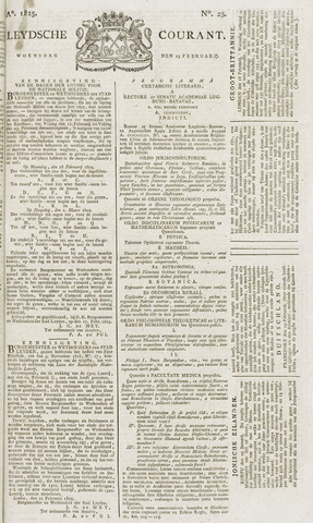 Leydse Courant 1825-02-23