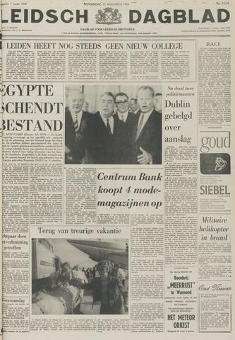 Leidsch Dagblad 1970-08-13