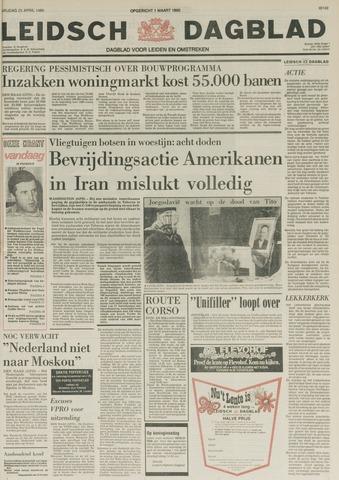 Leidsch Dagblad 1980-04-25