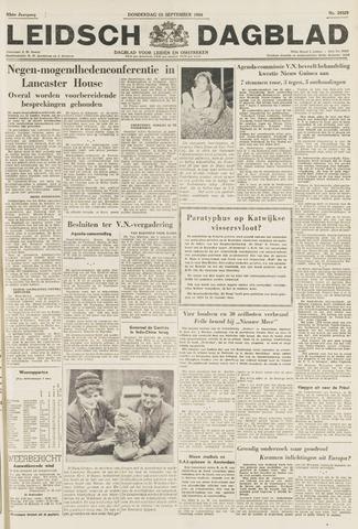 Leidsch Dagblad 1954-09-23