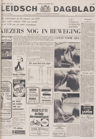 Leidsch Dagblad 1968-10-25