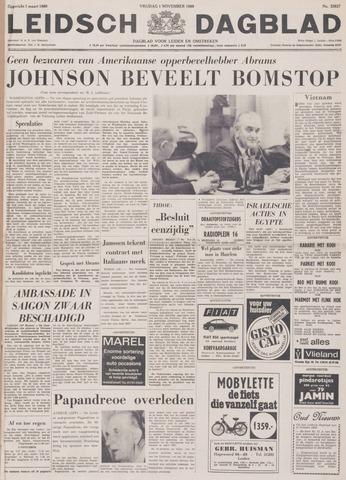 Leidsch Dagblad 1968-11-01
