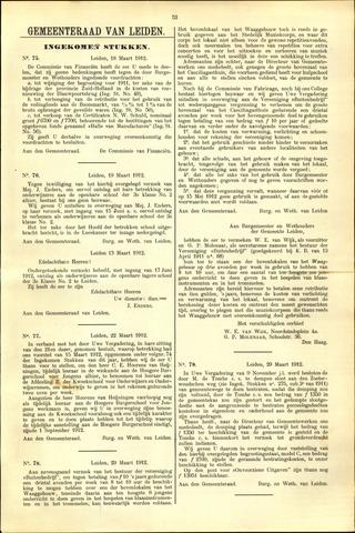 Handelingen van de Raad 1912-03-18