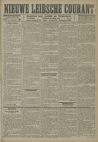 Nieuwe Leidsche Courant 1923-04-30