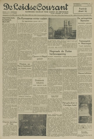 Leidse Courant 1950-11-16
