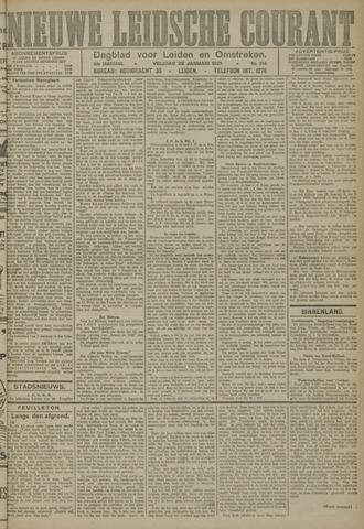 Nieuwe Leidsche Courant 1921-01-28