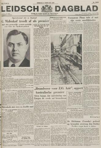 Leidsch Dagblad 1955-02-08