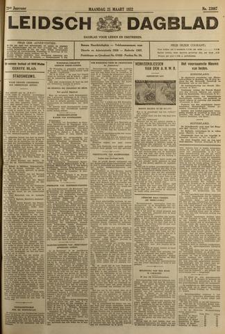 Leidsch Dagblad 1932-03-21
