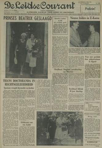 Leidse Courant 1961-07-07
