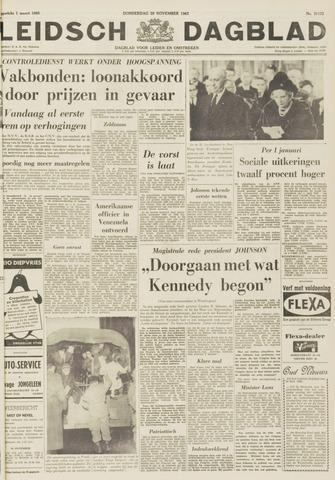 Leidsch Dagblad 1963-11-28
