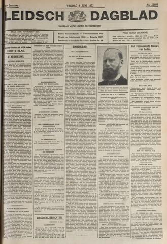 Leidsch Dagblad 1933-06-09
