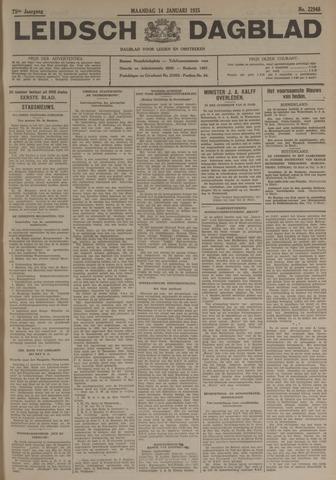 Leidsch Dagblad 1935-01-14