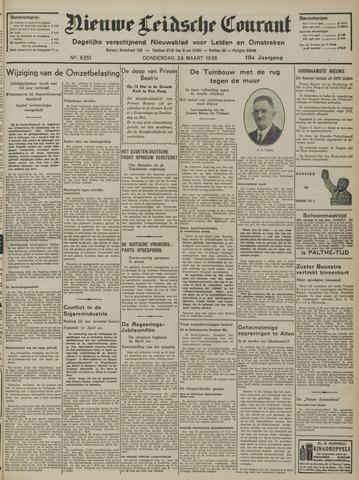 Nieuwe Leidsche Courant 1938-03-24