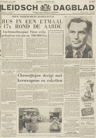 Leidsch Dagblad 1961-08-07