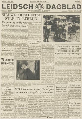Leidsch Dagblad 1961-08-23