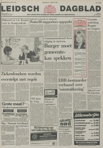 Leidsch Dagblad 1985-04-24