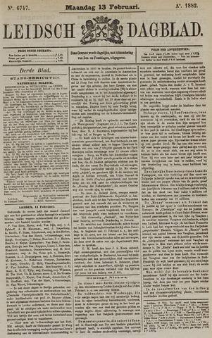 Leidsch Dagblad 1882-02-13