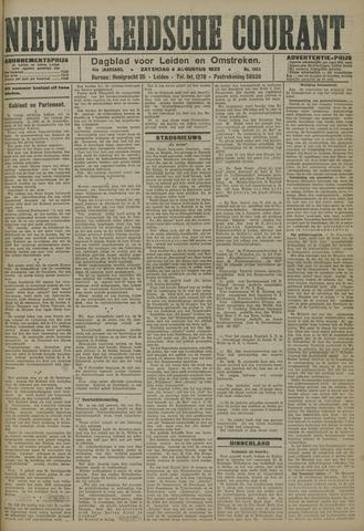 Nieuwe Leidsche Courant 1923-08-04