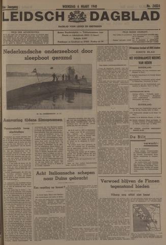 Leidsch Dagblad 1940-03-06