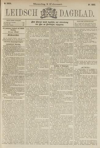 Leidsch Dagblad 1892-02-08