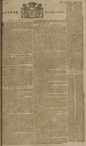Leydse Courant 1770-03-19