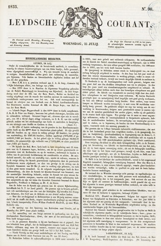 Leydse Courant 1855-07-25