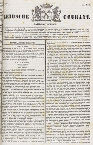 Leydse Courant 1871-10-07