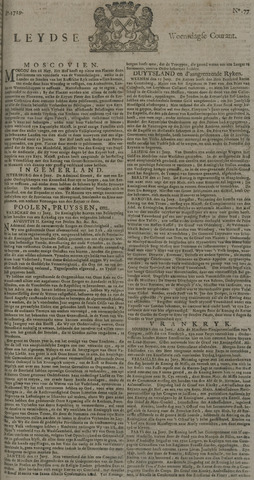 Leydse Courant 1729-06-29