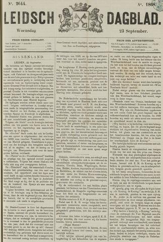 Leidsch Dagblad 1868-09-23