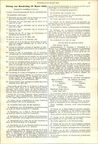Handelingen van de Raad 1915-03-18