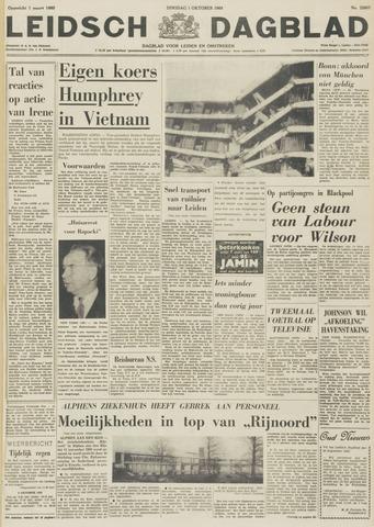 Leidsch Dagblad 1968-10-01