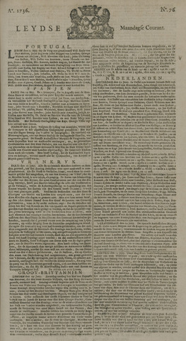 Leydse Courant 1736-06-25