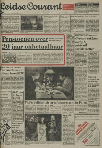 Leidse Courant 1981-09-09