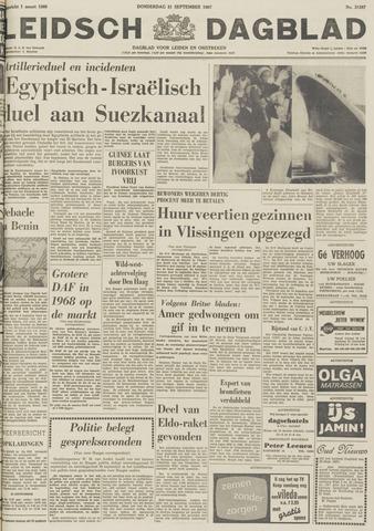 Leidsch Dagblad 1967-09-21