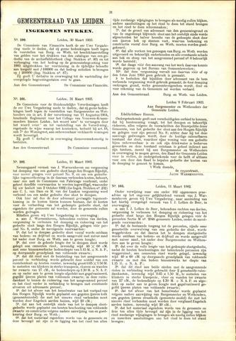 Handelingen van de Raad 1903-03-30