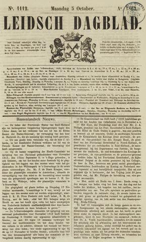 Leidsch Dagblad 1863-10-05